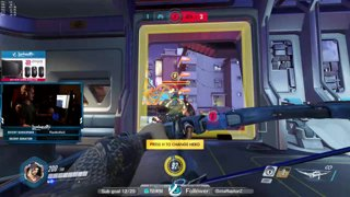 Anaheals on roadhog :thinking: