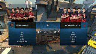 CS:GO - mousesports vs. Renegades [Train] Map 1 - Group A - IEM Sydney 2019