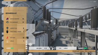 (EN) Ad hoc vs LDLC | map 2 | Loot.bet/CS Season 3 | by @oversiard & @VortexKieran