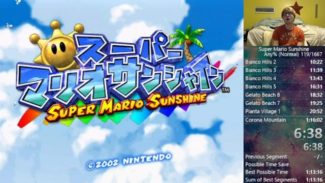 Super Mario Sunshine any% in 1:15:17 by Jcool114 : speedrun