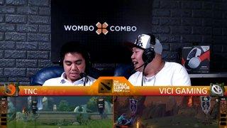 [FIL] TNC  vs  VICI GAMING (BO3) I Game 2 | Group Stage | The Kuala Lumpur Major!