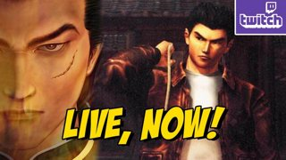SHENMUE aka Japan Circa 1980s: Sega Sponsored Stream #ad (Thurs 8-23)
