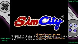 Super Chronquest Game #12 Simcity stream #4