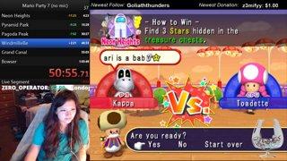 Mario Party 7 no mic speedrun 59:53.76