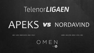 Telenorligaen Vår 2019: CS:GO Runde 1! Apeks vs Nordavind!