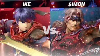 CB 2019 SSBU - UGS | Ravenking (Ike) Vs. Goldeneye161 (Simon) Smash Ultimate Tournament Pools