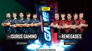 [PT-BR] Isurus vs. Renegades | ESL Pro League 2019 | Dia 13 - [Mapa 2 - DUST2]