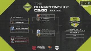 The Championship CS:GO League : Play Offs  | Quarter-Finals