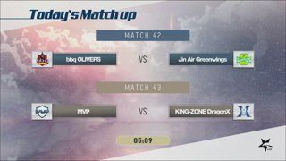 LCK Summer: BBQ vs. JAG - MVP vs. KZ