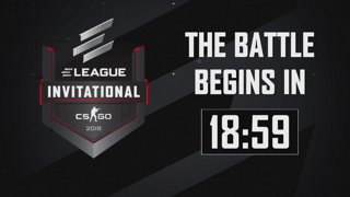 The ELEAGUE CS:GO Invitational 2019 begins Friday, January 25th at 2pm ET