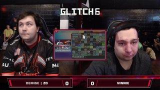 Glitch 6 SSBU - Demise | ZD (Fox) VS Vinnie (Daisy) Smash Ultimate Loser's Top 32