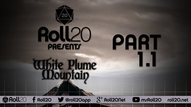 White Plume Mountain - Ep 1 1 | Tales from the Yawning Portal | Roll20  Games Master Series