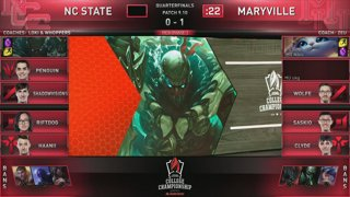 2019 League of Legends College Championship (May 23 - 26)