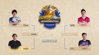 Eddie vs PNC - Semifinals - Hearthstone Grandmasters Americas Playoffs