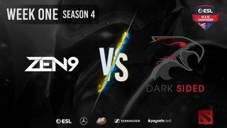 ZEN9 vs. Dark Sided - Stage 1, Matchday #2 | ESL AUNZ Championship Season 4 [#dota2]