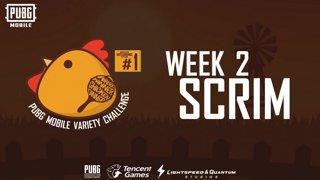 Highlight: PUBG Mobile Variety Challenge #1 Scrim Week 2