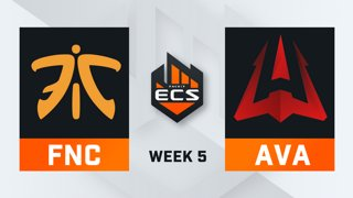 Fnatic vs Avangar - Map 3 - Train (ECS Season 7 - Week 5 - DAY2)