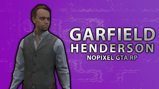 Garfield Henderson In Max Security Prison on NoPixel GTA RP w/ dasMEHDI - Day 4