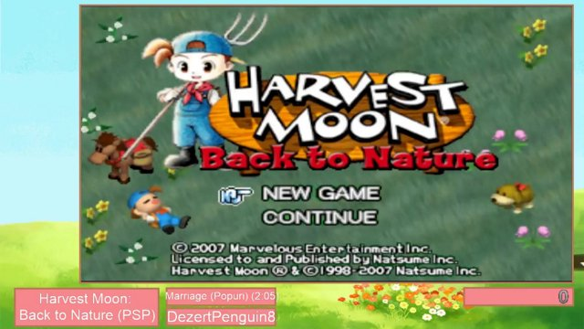 Harvest Moon Marathon 3 - Back to Nature by DezertPenguin8