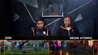 Neon Atomic vs Sterling Global Dragons | TNC Cup 2018 Grand Finals