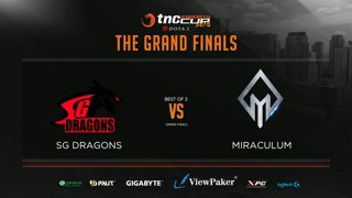 Sterling Global Dragons vs Miraculum Game 1 | TNC Cup 2018 Grand Finals (Bo3)