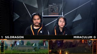 Sterling Global Dragons vs Miraculum Game 2 | TNC Cup 2018 Grand Finals (Bo3)