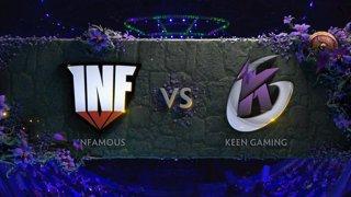 [EN] Infamous vs Keen BO1 - The International 2019 Main Event