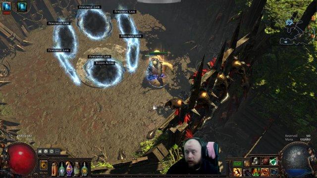 Path of Exile 3 2 [Ger]: Fenumus' Lair, Bestiary Boss