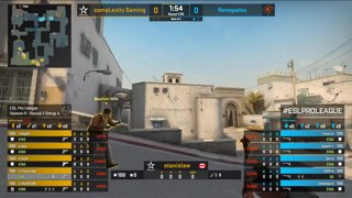 CS:GO - compLexity vs. Renegades [Dust2] Map 2 - Group A - ESL Pro League Season 9 Americas