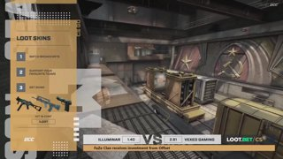 (EN) Illuminar vs Vexed Gaming | map 1 | Loot.bet/CS Season 3 | by @oversiard & @VortexKieran