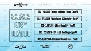 Week 10: Chicago vs UC Berkeley