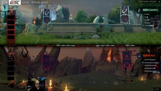 Alpha Red vs Keen Gaming | GESC: Thailand Round Robin
