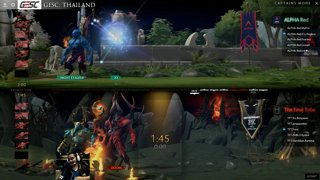 Alpha Red vs The Final Tribe | GESC: Thailand Round Robin