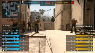 [PT-BR] Ghost vs. Infinity | ESL Pro League 2019 | Dia 15 - [Mapa 1 - MIRAGE]