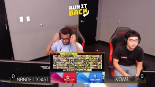 Run It Back - Kome (Shulk) vs Nfinite | Toast (YL) Losers 8s - Smash Ultimate Singles