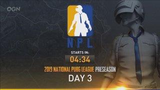 National PUBG League Preseason: Day 3 - Groups A & C