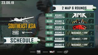 PUBG Southeast Asia Championship 2019 - Phase 2 Thailand Qualifier Final