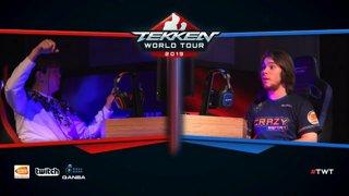 Tekken 7: CherryBerryMango vs. CRaZY | Super Akouma - The Mixup 2019 - Grand Finals
