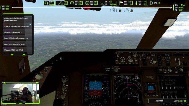 Leg 1 - DLH475 - CYUL->EDDM - stop descend 5000ft