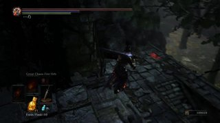 Dark Souls 3 - Quite literally ganked by mom