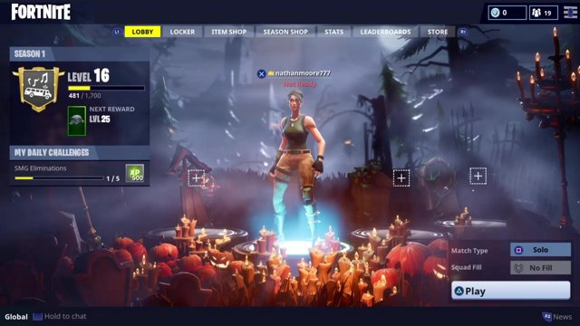 Fortnite Halloween Lobby