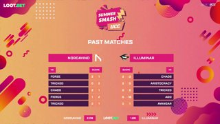 (EN) UCC Summer Smash | Nordavind vs Illuminar | map 1 | by @oversiard & @VortexKieran