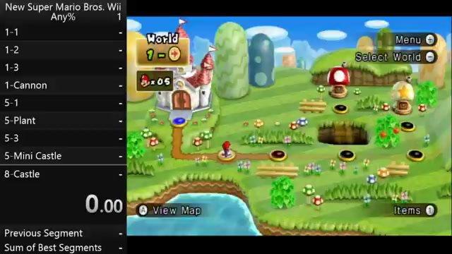 New Super Mario Bros World 8 Castle