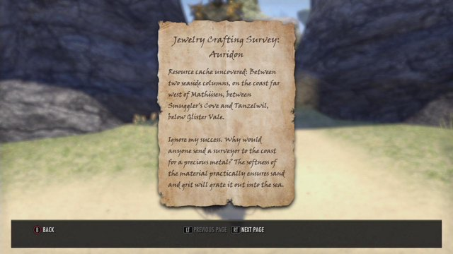 Eso wrothgar jewelry survey 3