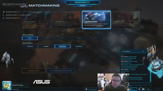 sc2 unranked matchmaking