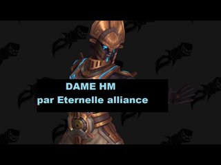 Dame HM avec Eternelle alliance