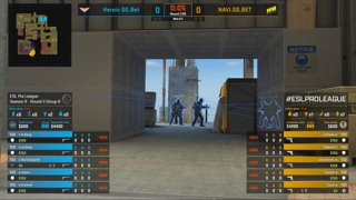 CS:GO - Heroic vs. Natus Vincere [Vertigo] Map 1 - Group B - ESL Pro League Season 9 Europe