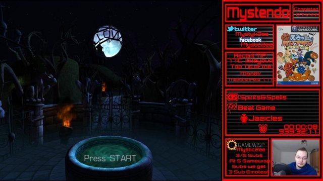 Mystendo 75/444 Spirits&Spells Playthrough