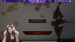 Dauntless Partner | Dauntless Giveaways every 30 min !enter | Subs get flare+more subs.twitch.tv/Khaljiit | !Chair !gfuel !prime