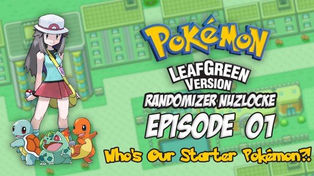 pokemon leaf green emulator randomizer